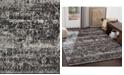"""Abbie & Allie Rugs Paramount PAR-1060 Charcoal 18"""" Area Rug Swatch"""