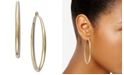 """INC International Concepts INC Extra Large 2.5"""" Gold-Tone Hoop Earrings"""