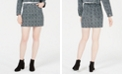 T.D.C. Topson T.D.C. by Topson Printed Corduroy Mini Skirt