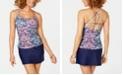 Island Escape Printed Tankini Top & Swim Skirt, Created for Macy's