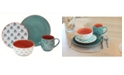 Baum Oasis 16 Piece Dinnerware Set