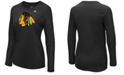 Majestic Women's Chicago Blackhawks Primary Logo Long Sleeve T-Shirt