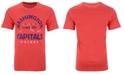 Authentic NHL Apparel Men's Washington Capitals Vintage Arch Tri-Blend T-Shirt