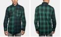 Sean John Men's Light & Dark Plaid Shirt