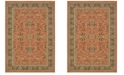 "Oriental Weavers Toscana 9537C Orange/Blue 1'10"" x 3' Area Rug"