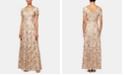 Alex Evenings Embellished Soutache Gown