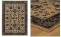 "Oriental Weavers Foundry 596I5 Sand/Gray 7'10"" x 10'10"" Area Rug"