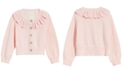 First Impressions Baby Girls Ruffle Cardigan, Created for Macy's