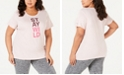 Columbia Plus Size Word Block T-Shirt