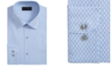 Alfani Men's AlfaTech Slim-Fit Performance Stretch Honeycomb Dress Shirt, Created for Macy's