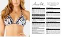 Anne Cole Studio Printed Triangle Halter Bikini Top