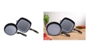 Swiss Diamond HD 2 Piece Set: Fry Pan and Grill Pan