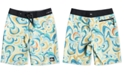 """Quiksilver Boys Highline Voodoo Stretch Abstract-Print 18"""" Board Shorts"""