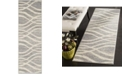 "Safavieh Adirondack Grey and Cream 2'6"" x 8' Runner Area Rug"