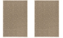 Safavieh Linden Beige and Cream 4' x 6' Area Rug