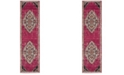 "Safavieh Monaco Pink and Multi 2'2"" x 8' Runner Area Rug"