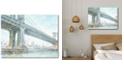 "Courtside Market Iconic Watercolor Bridge III Gallery-Wrapped Canvas Wall Art - 18"" x 24"""