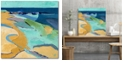"""Courtside Market Seaside Gallery-Wrapped Canvas Wall Art - 16"""" x 16"""""""