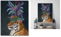 """Courtside Market Hothouse Tiger Gallery-Wrapped Canvas Wall Art - 18"""" x 24"""""""
