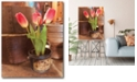 """Courtside Market Tulip Simplicity Gallery-Wrapped Canvas Wall Art - 16"""" x 20"""""""