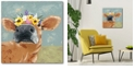 "Courtside Market Farm Fun II Gallery-Wrapped Canvas Wall Art - 16"" x 16"""
