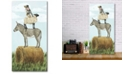 """Courtside Market Home on The Farm Collection I Gallery-Wrapped Canvas Wall Art - 12"""" x 24"""""""