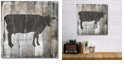 """Courtside Market Fresh Local Beef Gallery-Wrapped Canvas Wall Art - 16"""" x 16"""""""