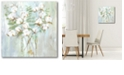 """Courtside Market Contemporary Cotton Gallery-Wrapped Canvas Wall Art - 16"""" x 16"""""""
