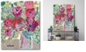 """Courtside Market Blooming in The Window Sill Gallery-Wrapped Canvas Wall Art - 16"""" x 20"""""""