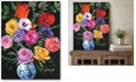 """Courtside Market Modern bouquet Gallery-Wrapped Canvas Wall Art - 16"""" x 20"""""""