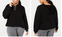 Soffe Plus Size Dance Cropped Hoodie