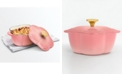 Martha Stewart Collection 2-Qt. Flower Cast Iron Dutch Oven, Created for Macy's