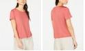 Eileen Fisher Scoop-Neck T-Shirt, Regular & Petite