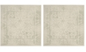 Safavieh Adirondack Ivory and Sage 8' x 8' Square Area Rug