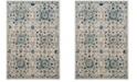 Safavieh Evoke Ivory and Blue 10' x 14' Area Rug