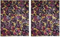 Safavieh Fiesta Lavender and Multi 9' x 12' Area Rug