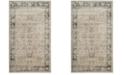 "Safavieh Vintage Stone and Blue 3'3"" x 5'7"" Area Rug"