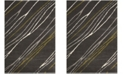 "Safavieh Porcello Dark Gray 6'7"" x 9'6"" Area Rug"