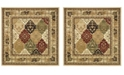 Safavieh Lyndhurst Multi and Black 10' x 10' Square Area Rug