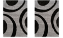 Safavieh Portofino Gray and Black 8' x 10' Area Rug