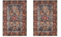 Safavieh Bijar Brown and Royal 8' x 10' Area Rug