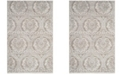 Safavieh Princeton Gray and Beige 9' x 12' Area Rug