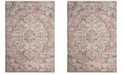 Safavieh Illusion Cream and Rose 4' x 4' Square Area Rug