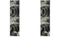 "Safavieh Glacier Blue and Multi 2'3"" x 6' Sisal Weave Runner Area Rug"