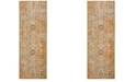 Safavieh Sutton Gold and Ivory 3' x 12' Area Rug