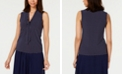 Anne Klein Tie-Neck Sleeveless Top