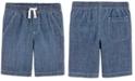 Carter's Little Boys Cotton Chambray Shorts