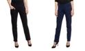 YALA Designs YALA Layla Straight Leg Organic Cotton and Viscose from Bamboo Pull-on Pant