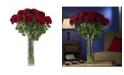 Nearly Natural Large Rose Silk Flower Arrangement