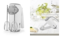 Elite by Maxi-Matic Elite Cuisine 5 Speed Hand Mixer with Beater Storage